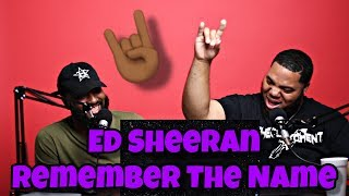 Ed Sheeran - Remember The Name (feat. Eminem & 50 Cent) [Official Lyric Video] 🤘
