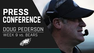 Doug Pederson Discusses the Great Team Win Over the Bears | Eagles Press Conference