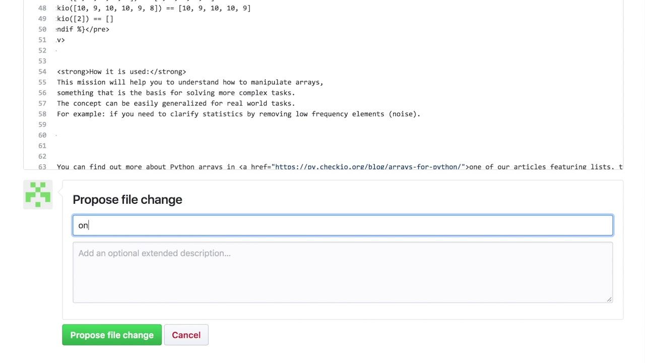 How to improve CheckiO missions? - python coding challenges - Py CheckiO