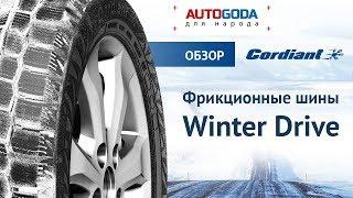 Шины Cordiant Winter Drive – идеально для зимы в городе. Обзор зимних шин.