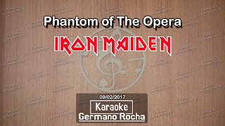 Iron Maiden - Phantom of the Opera (Karaoke)