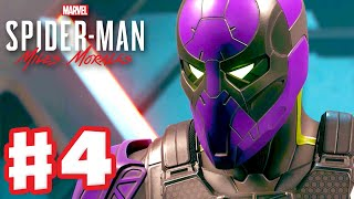 Who Is the Prowler? - Spider-Man: Miles Morales - PS5 Gameplay Walkthrough Part 4 (PS5 4K)