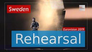 John Lundvik - Too Late For Love - Eurovision 2019 Sweden (Rehearsal)