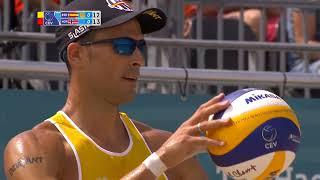 Herrera/Gavira vs Mol/Sorum - #EuroBeachVolley2018 Semi-finals