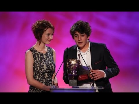 Dakota Blue Richards and Charlie Rowe present at BAFTA Children's Awards 2011