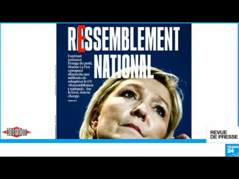 """""""Le REssemblement national de Marine Le Pen"""""""