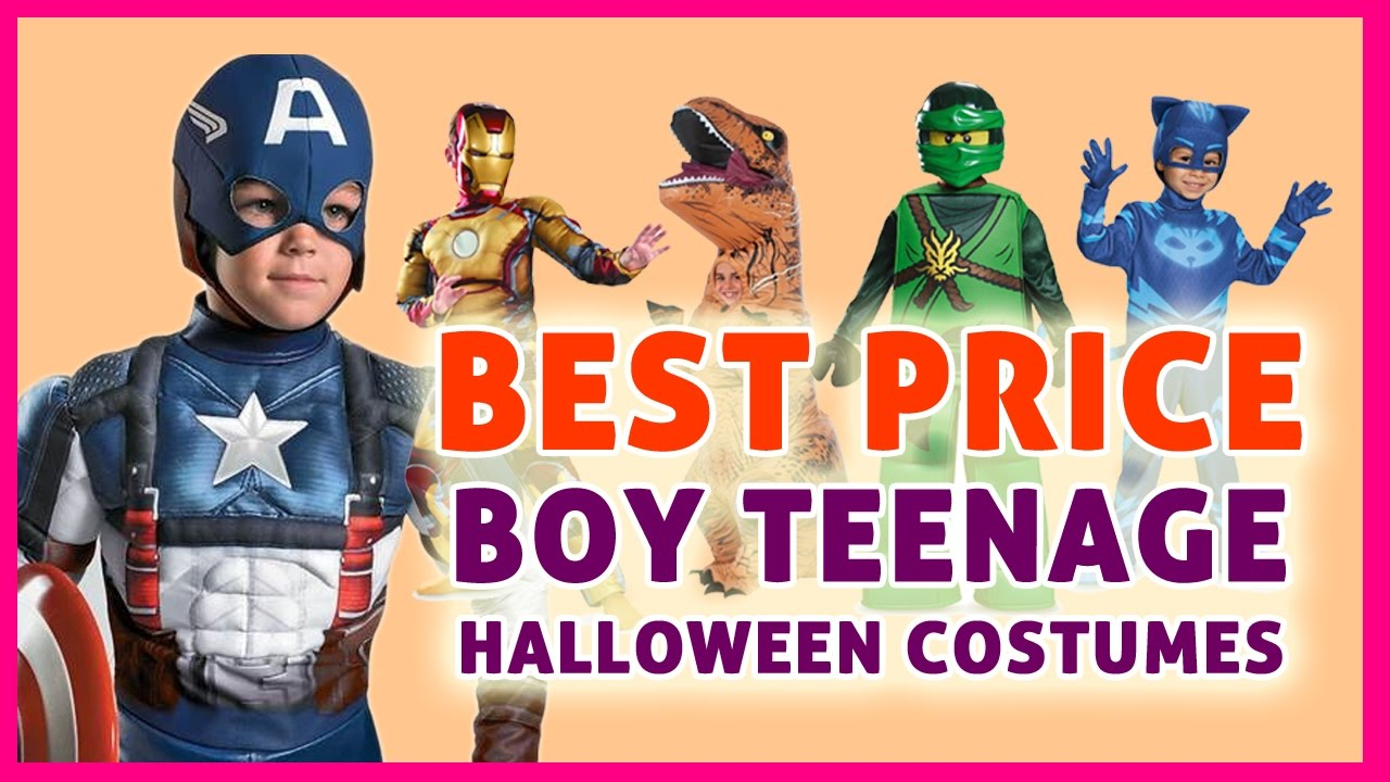 boy teenage halloween costumes - boy costumes on sale! - youtube