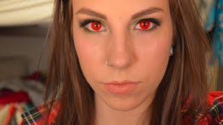 How To Apply SFX Contact Lenses