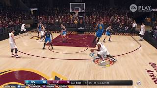 NBA LIVE 18 GAMEPLAY - CAVALIERS VS WARRIORS!! KYRIE IRVING BREAKS STEPH CURRY'S ANKLES!