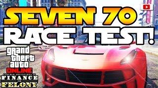GTA 5 Online - Seven 70 Race Test VS. Jester, Massacro & Fazit! [Finance And Felony Update]