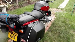 Bmw r1100r cold start and a review of the bike