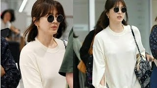 Mrs.Song safely arrived at incheon international airport😀back to Korea