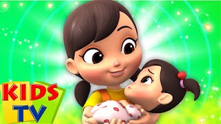 The Sick Song | The Boo Boo Song | New Nursery Rhymes and Baby Songs | Kids Tv Nursery Rhyme