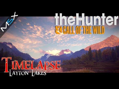 Thehunter  -Call of the Wild  -Layton lakes -Photo realistic Scenery  -Timelapse -Relaxation