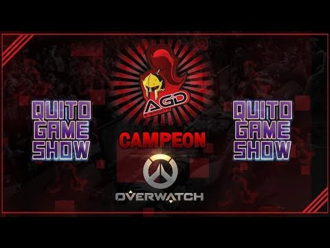 AGD OW en Quito Game Show 2018