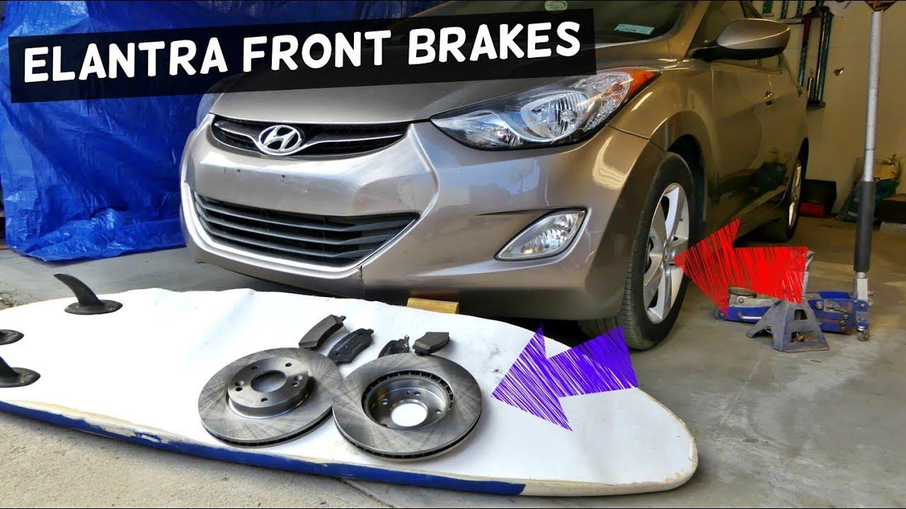 Hyundai Elantra: Changing tires