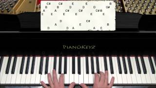 How to Play River Flows In You by Yiruma on Piano (2012 version)