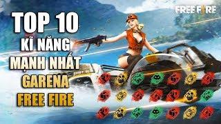Free Fire | TOP 10 Kĩ Năng Mạnh Nhất trong Garena Free Fire | Rikaki Gaming
