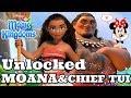 UNLOCKED MOANA AND CHIEF TUI 🌴 Disney Magic Kingdoms | Gameplay Walkthrough Ep.452