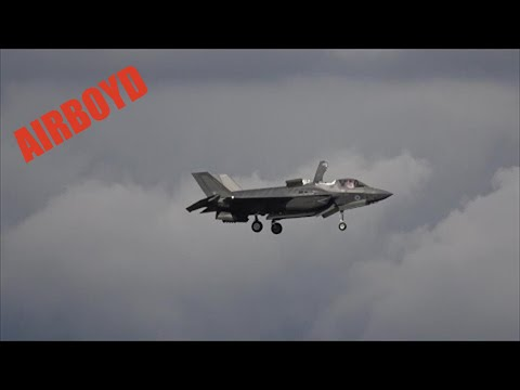 F-35B Flight Demonstration - Farnborough Airshow 2016