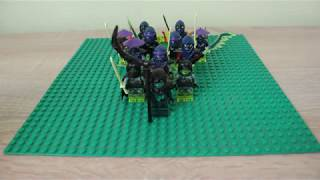 Обзор Коллекции Минифигурок Злодеев 5 Сезона Лего Ниндзяго