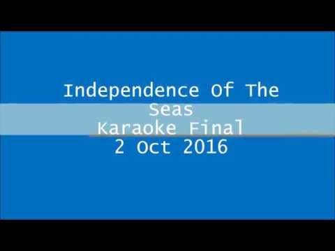 Independence Of The Seas Karaoke Final 2 Oct 2016