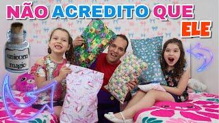 SE MEU PAI FOSSE CRIANÇA NO DIA DAS CRIANÇAS - PRETEND TO BE A CHILD BY EARNING TOYS