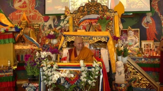 Lam Rim transmission with Lama Nyitrul Tulku Rinpoche  (Tibetan – English) – 7/8 May 2018