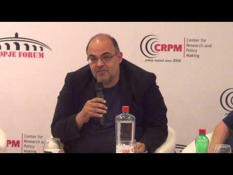 CRPM Skopje Forum 2014. Panel 2: The future of the Balkans. part 3