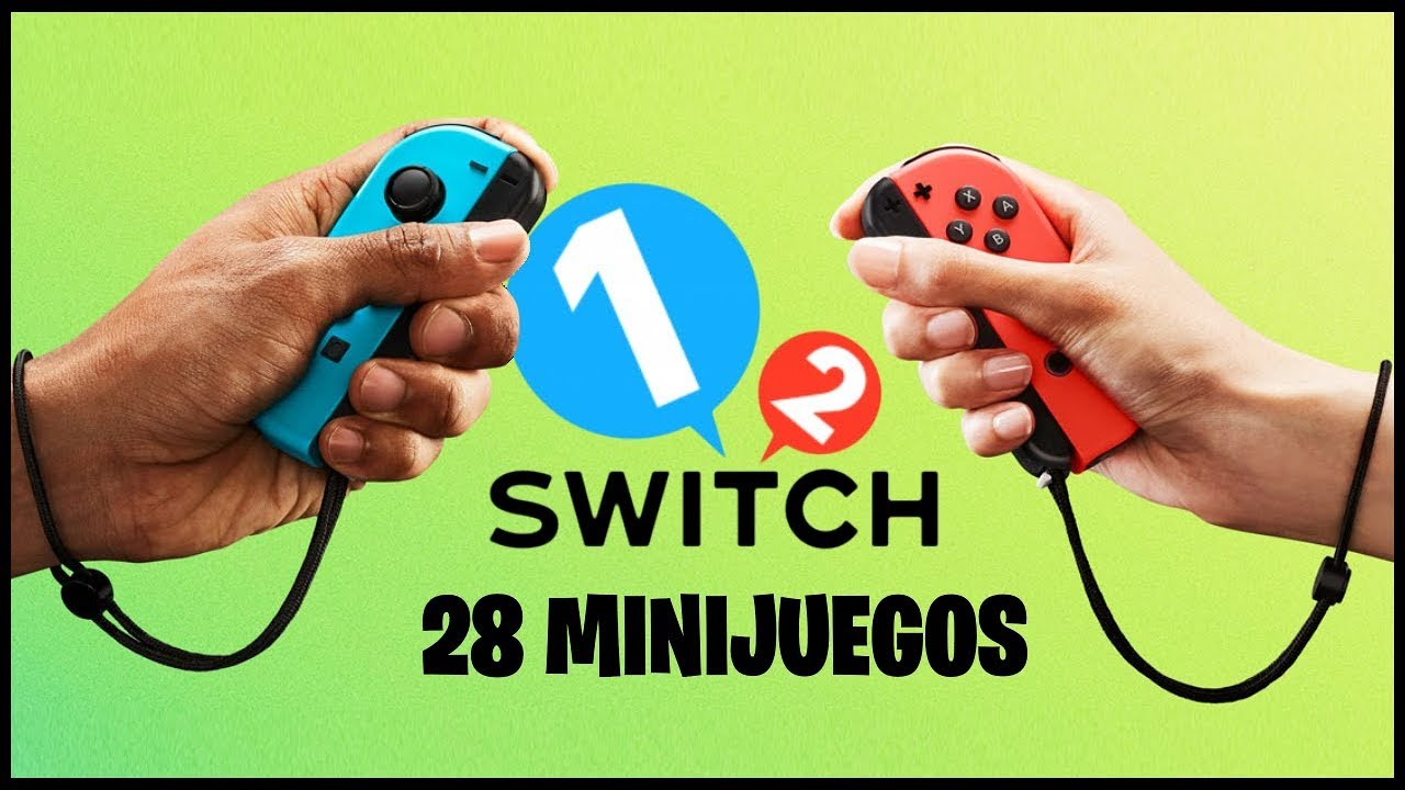 Los 28 minijuegos de 1 2 Switch   Nintendo Switch - YouTube
