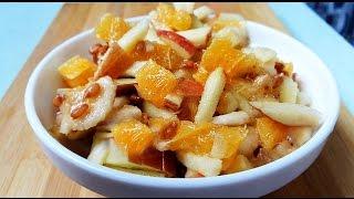 ФИТНЕС РЕЦЕПТЫ ☞Фруктовый Салат с Проростками | FITNESS RECIPES ☞ Fruit Salad