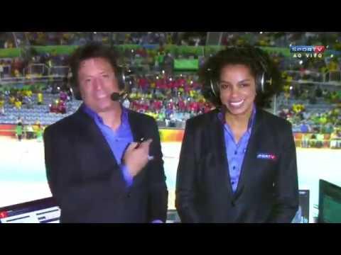 Brasil Vs  China Quartas de Final Olimpica 2016
