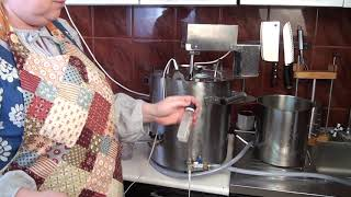 ЯК варити сир  КАБРЕ аль ВИНО в сироварні ПМЗ приволзький механічний завод