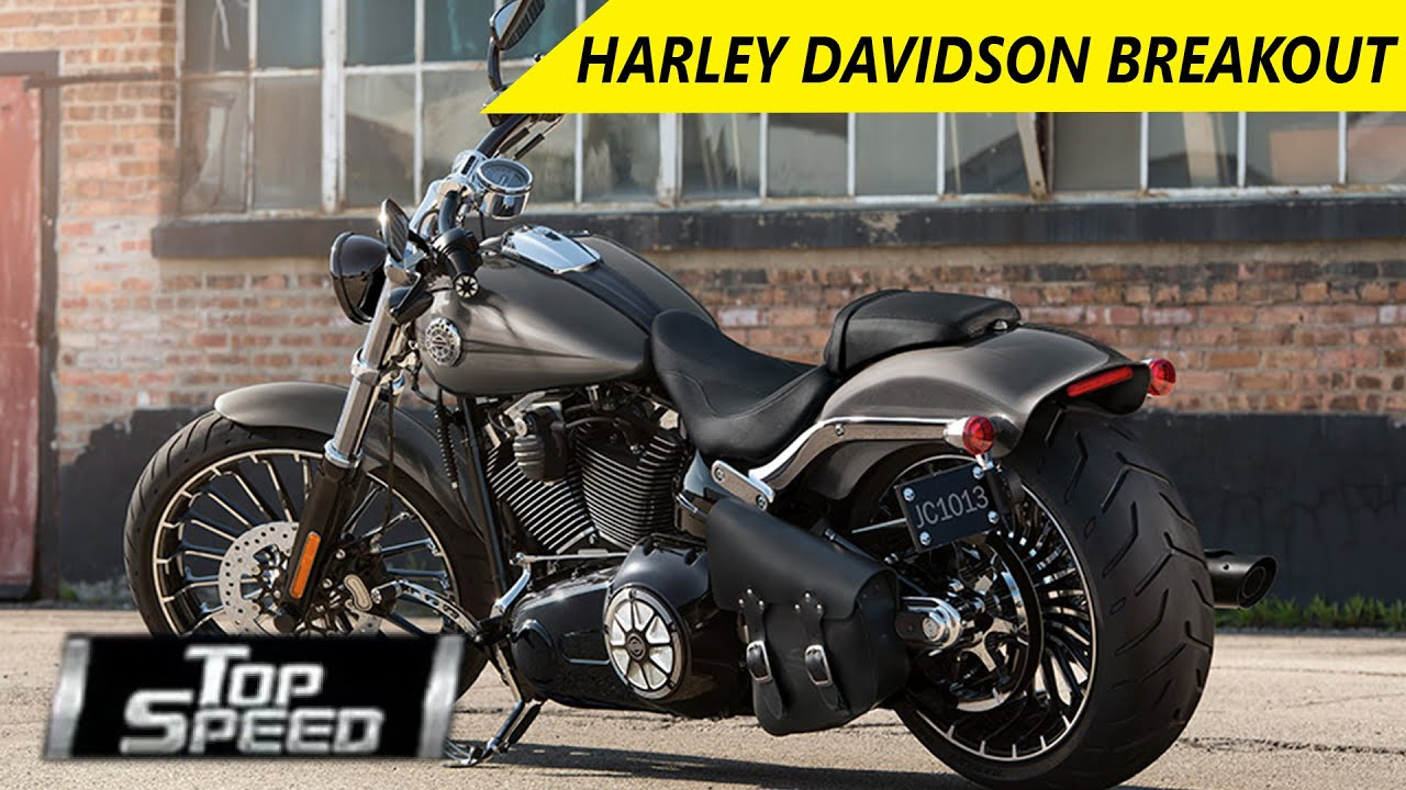 Harley Davidson Breakout | Review - Top Speed - Wheelspin - YouTube