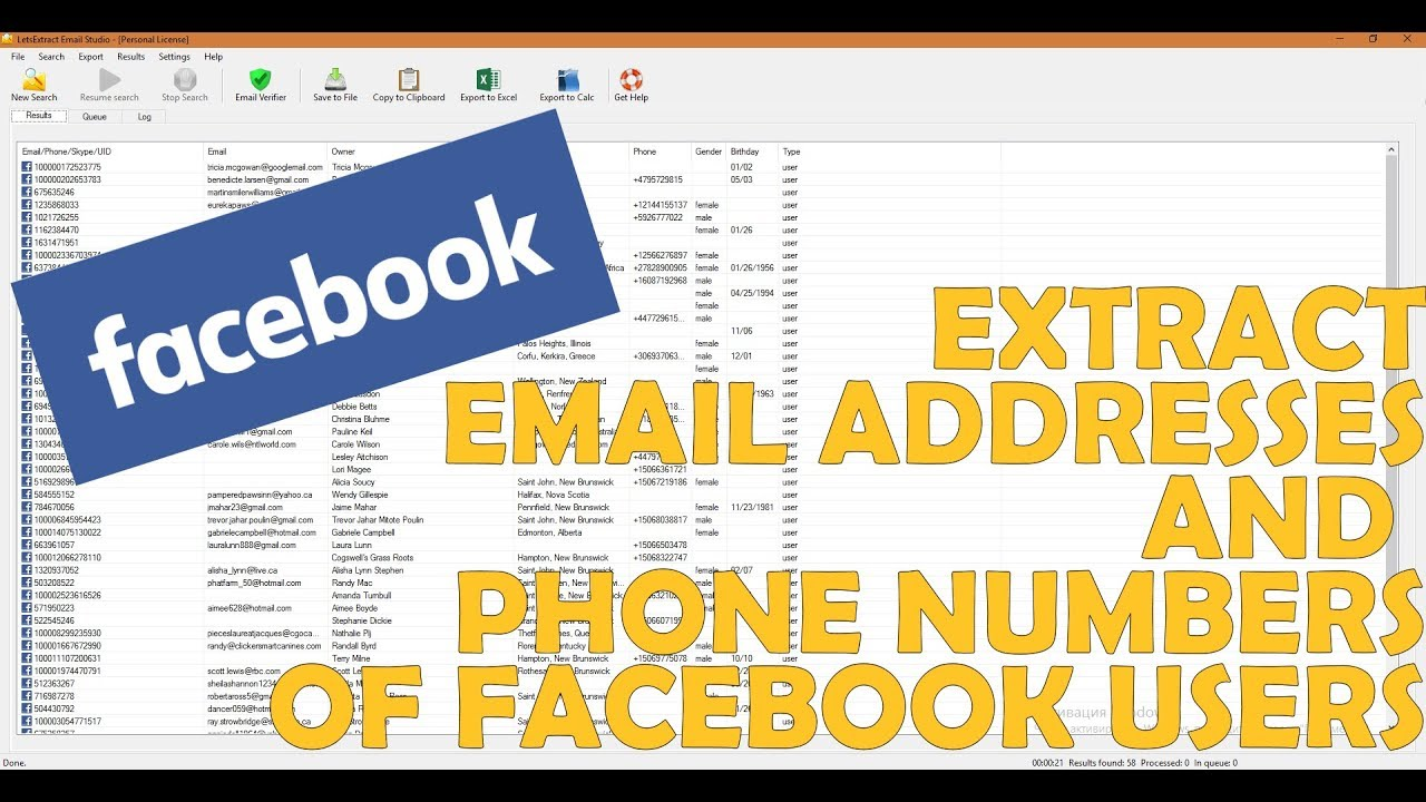 How to Extract Facebook Group Members Emails & Phones