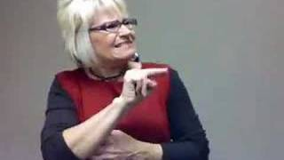 Laminin message in ASL by Louie Giglio