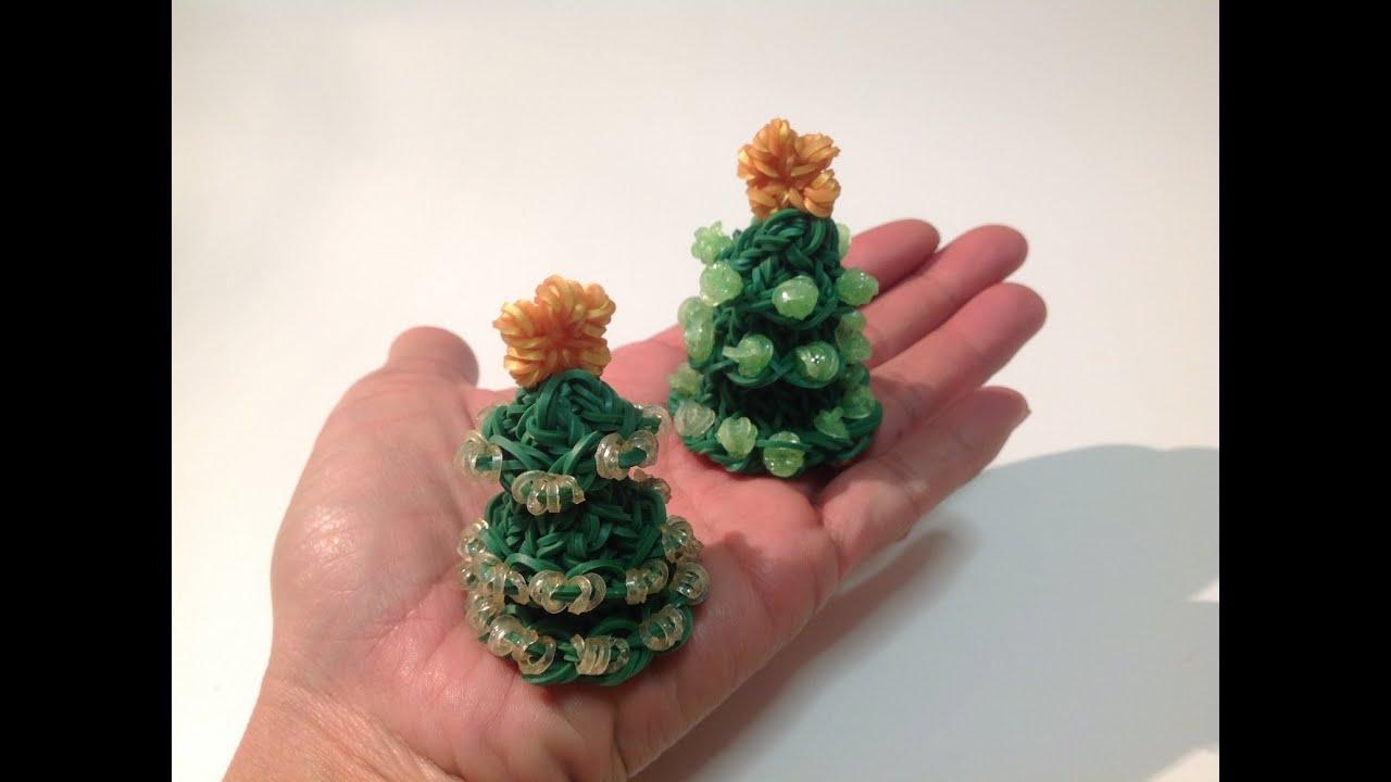 Rainbow Loom Nederlands Mini 3d Kerstboom Xmas Tree Youtube
