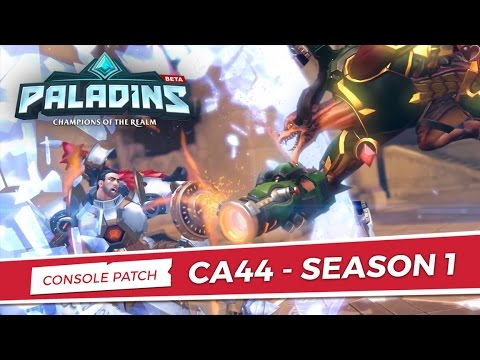 Paladins - CA44 Console Patch Overview - Season 1