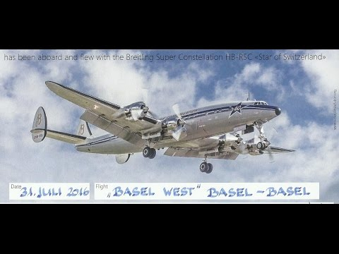 Taxi and Take Off of Breitling Super Constellation