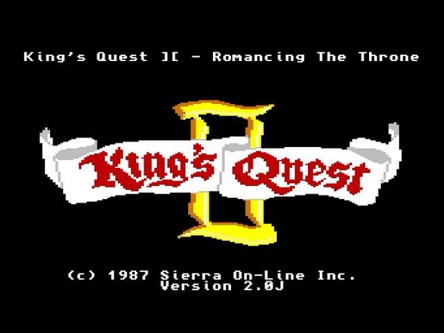 Amiga 500 Longplay [022] King's Quest II: Romancing The Throne