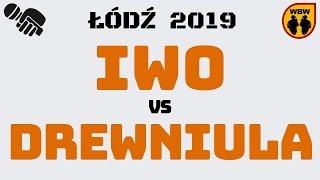 IWO vs DREWNIULA WBW2K19 Łódź (1/8) Freestyle Battle