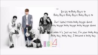 High4 (하이포) - Baby Boy (Han/Rom/Eng Lyrics)