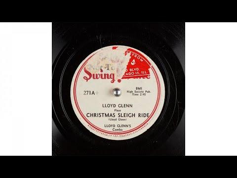 Lloyd Glenn's Combo - Christmas Sleigh Ride (1947)