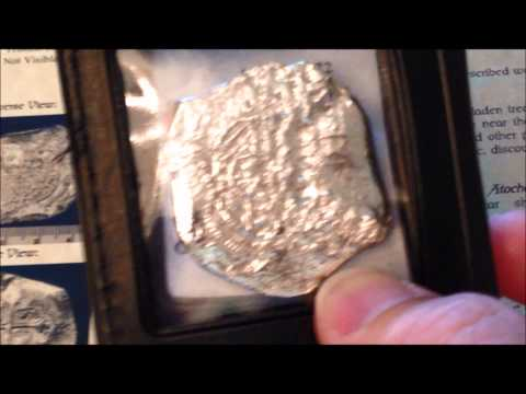 SHIPWRECK SILVER FROM THE ATOCHA!! WON'T FIND THIS IN COIN ROLLS!! ENJOY!!