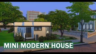 The Sims 4 | House Build (Stop Motion) | Mini Modern House