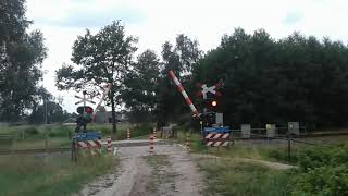 Spoorwegovergang Lievelde // Dutch Railroad Crossing