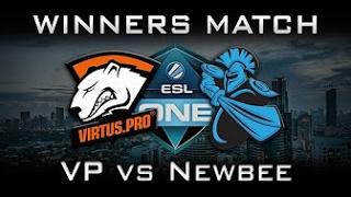 Virtus Pro vs Newbee ESL One Genting Лучшая игра, Best game dota 2, Русские комментаторы