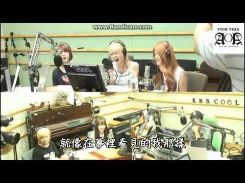 [HD繁中字]130805 AOA BLACK -Without You (Live) @Hong Jin Kyung 2 o'clock