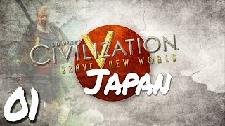 Civilization V Brave New World as Japan - Episode 1 ...Go Forth, Banner-men!...