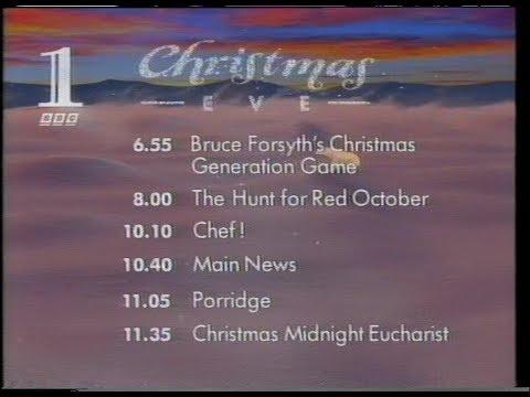 BBC1 Continuity Promos - 19-12-1993